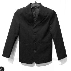 Black 2 pc suit